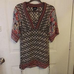 Medium size blouse